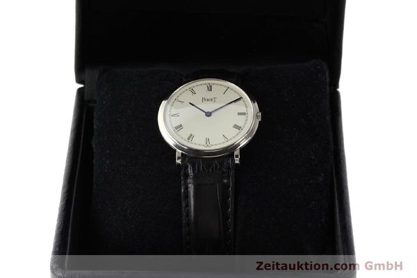 Used luxury watch Piaget Altiplano 18 ct white gold manual winding Kal. 9P Ref. 902  | 142608 07
