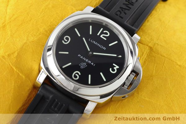 Used luxury watch Panerai Luminor  steel manual winding Kal. ETA B99501 Ref. OP6616 LIMITED EDITION | 142610 01