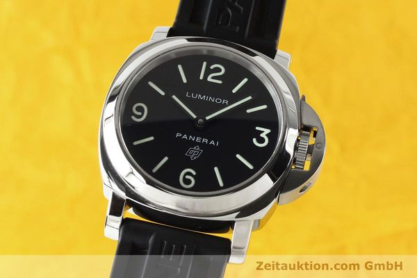 Used luxury watch Panerai Luminor  steel manual winding Kal. ETA B99501 Ref. OP6616 LIMITED EDITION | 142610 04