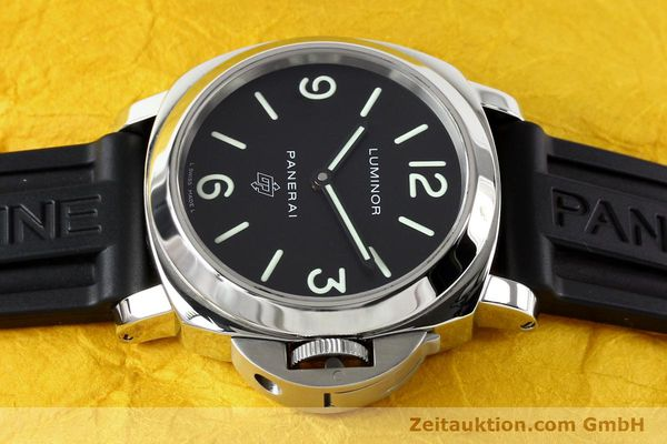 Used luxury watch Panerai Luminor  steel manual winding Kal. ETA B99501 Ref. OP6616 LIMITED EDITION | 142610 05