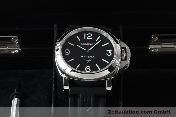 Used luxury watch Panerai Luminor  steel manual winding Kal. ETA B99501 Ref. OP6616 LIMITED EDITION | 142610 07