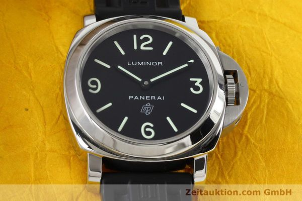 Used luxury watch Panerai Luminor  steel manual winding Kal. ETA B99501 Ref. OP6616 LIMITED EDITION | 142610 17