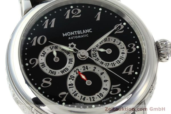 Used luxury watch Montblanc Meisterstück steel automatic Kal. 4810 601 ETA 2892A2 Ref. 7018  | 142611 02