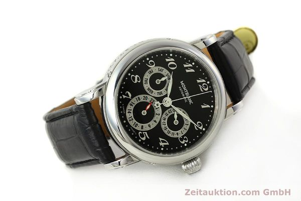 Used luxury watch Montblanc Meisterstück steel automatic Kal. 4810 601 ETA 2892A2 Ref. 7018  | 142611 03