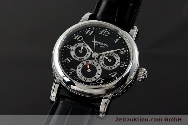 Used luxury watch Montblanc Meisterstück steel automatic Kal. 4810 601 ETA 2892A2 Ref. 7018  | 142611 04