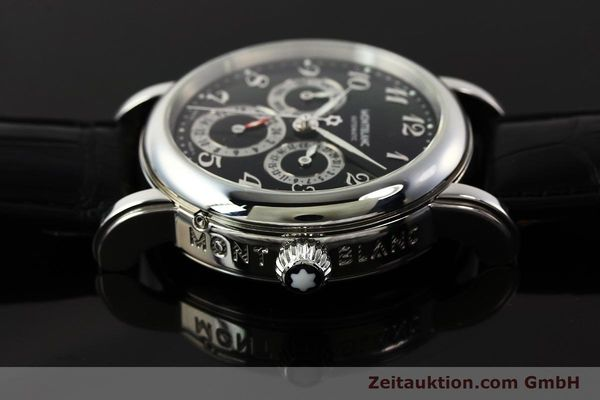 Used luxury watch Montblanc Meisterstück steel automatic Kal. 4810 601 ETA 2892A2 Ref. 7018  | 142611 05