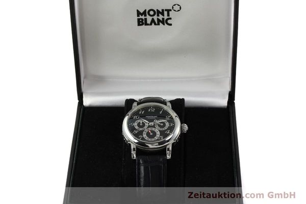 Used luxury watch Montblanc Meisterstück steel automatic Kal. 4810 601 ETA 2892A2 Ref. 7018  | 142611 07