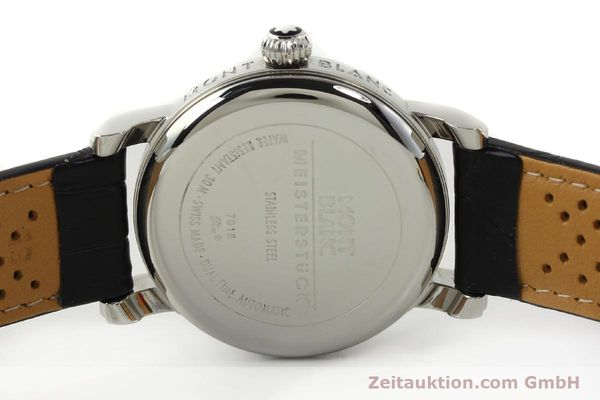 Used luxury watch Montblanc Meisterstück steel automatic Kal. 4810 601 ETA 2892A2 Ref. 7018  | 142611 09