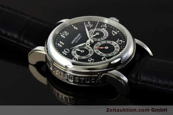 Used luxury watch Montblanc Meisterstück steel automatic Kal. 4810 601 ETA 2892A2 Ref. 7018  | 142611 15