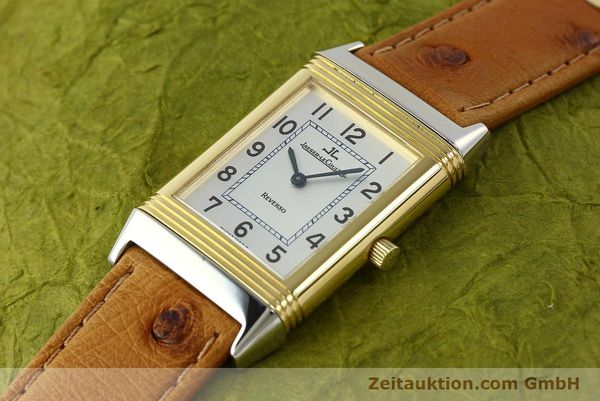 Used luxury watch Jaeger Le Coultre Reverso steel / gold manual winding Kal. 946/2 Ref. 250.5.86  | 142612 01