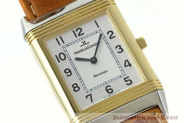 Used luxury watch Jaeger Le Coultre Reverso steel / gold manual winding Kal. 946/2 Ref. 250.5.86  | 142612 02
