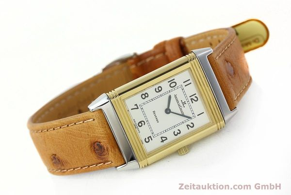 Used luxury watch Jaeger Le Coultre Reverso steel / gold manual winding Kal. 946/2 Ref. 250.5.86  | 142612 03