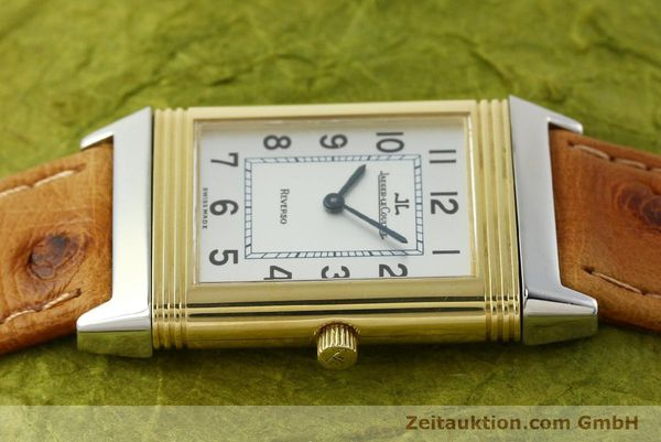 Used luxury watch Jaeger Le Coultre Reverso steel / gold manual winding Kal. 946/2 Ref. 250.5.86  | 142612 05