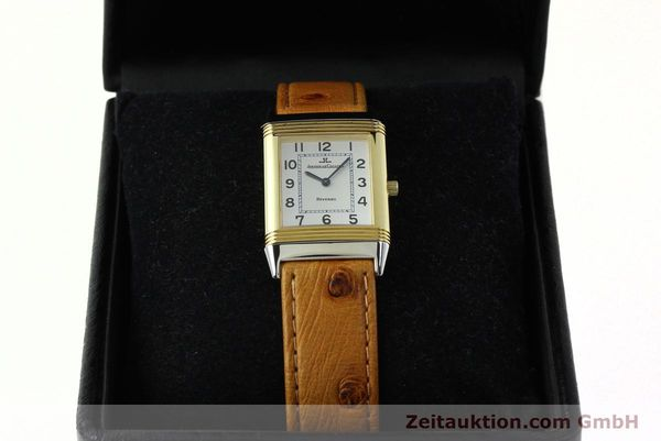 Used luxury watch Jaeger Le Coultre Reverso steel / gold manual winding Kal. 946/2 Ref. 250.5.86  | 142612 07