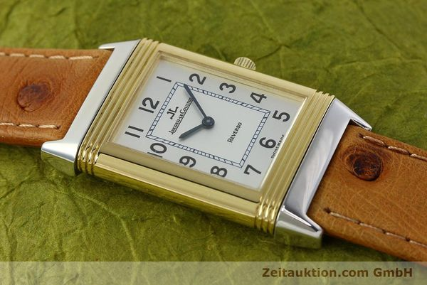 Used luxury watch Jaeger Le Coultre Reverso steel / gold manual winding Kal. 946/2 Ref. 250.5.86  | 142612 15