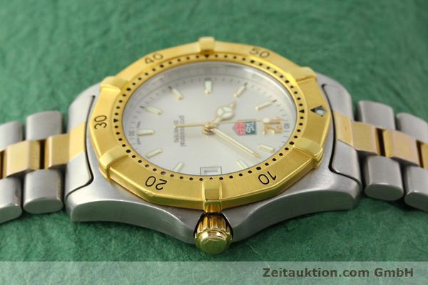 Used luxury watch Tag Heuer Professional gilt steel quartz Kal. 3.00 ETA 955.112 Ref. WK1120-0  | 142613 05