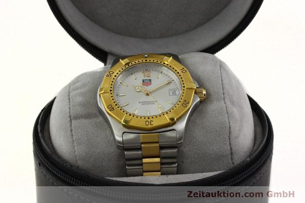Used luxury watch Tag Heuer Professional gilt steel quartz Kal. 3.00 ETA 955.112 Ref. WK1120-0  | 142613 07