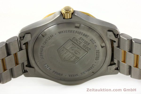 Used luxury watch Tag Heuer Professional gilt steel quartz Kal. 3.00 ETA 955.112 Ref. WK1120-0  | 142613 09