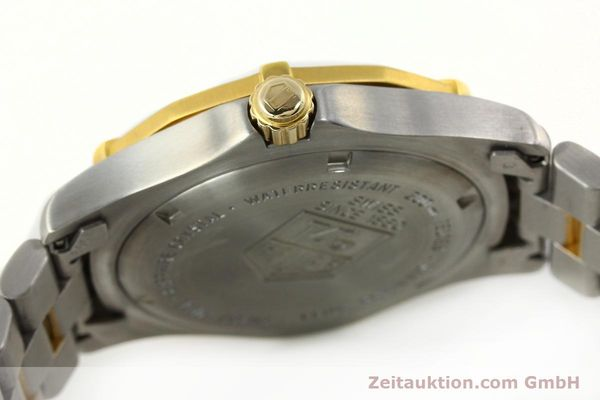 Used luxury watch Tag Heuer Professional gilt steel quartz Kal. 3.00 ETA 955.112 Ref. WK1120-0  | 142613 10
