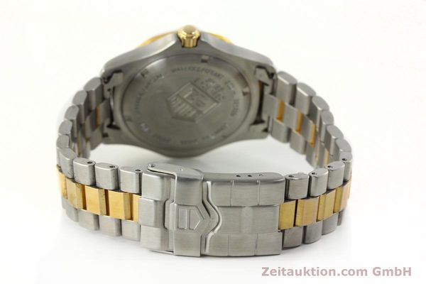 Used luxury watch Tag Heuer Professional gilt steel quartz Kal. 3.00 ETA 955.112 Ref. WK1120-0  | 142613 11