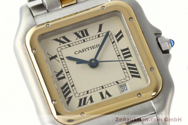 montre de luxe d occasion Cartier Panthere acier / or  quartz Kal. 83  | 142614 02