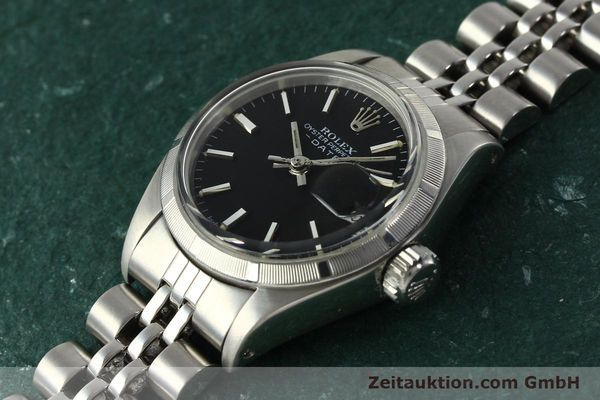 Used luxury watch Rolex Lady Date steel automatic Kal. 2030 Ref. 6919  | 142615 01