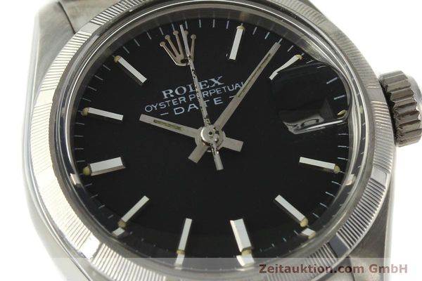 Used luxury watch Rolex Lady Date steel automatic Kal. 2030 Ref. 6919  | 142615 02