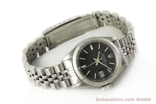 Used luxury watch Rolex Lady Date steel automatic Kal. 2030 Ref. 6919  | 142615 03