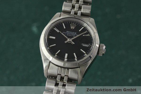 Used luxury watch Rolex Lady Date steel automatic Kal. 2030 Ref. 6919  | 142615 04