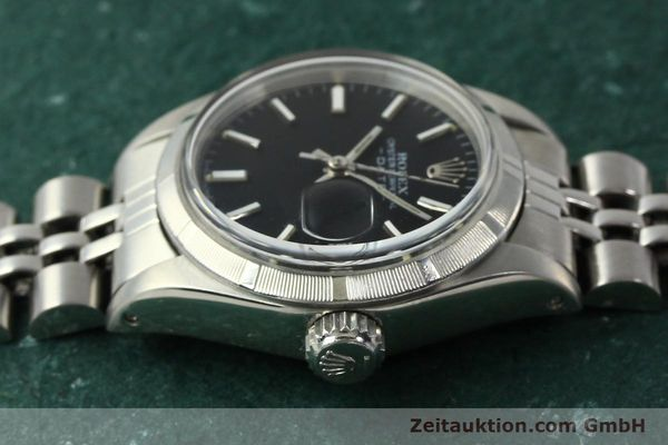 Used luxury watch Rolex Lady Date steel automatic Kal. 2030 Ref. 6919  | 142615 05