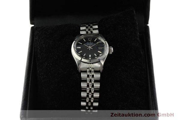 Used luxury watch Rolex Lady Date steel automatic Kal. 2030 Ref. 6919  | 142615 07