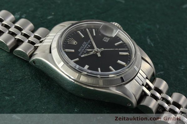 Used luxury watch Rolex Lady Date steel automatic Kal. 2030 Ref. 6919  | 142615 15