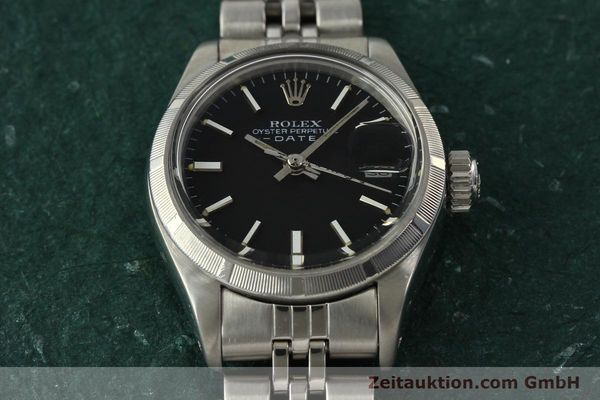 Used luxury watch Rolex Lady Date steel automatic Kal. 2030 Ref. 6919  | 142615 16