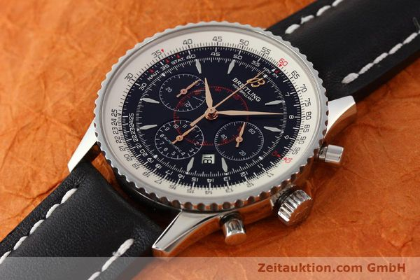 Used luxury watch Breitling Montbrillant chronograph steel automatic Kal. B41 ETA 2892A2 Ref. A41370  | 142618 01
