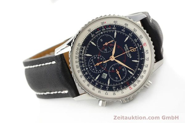 Used luxury watch Breitling Montbrillant chronograph steel automatic Kal. B41 ETA 2892A2 Ref. A41370  | 142618 03