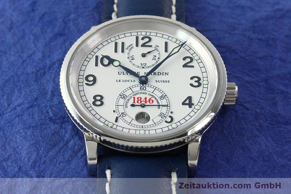 Used luxury watch Ulysse Nardin Marine Chronometer steel automatic Kal. ETA 2892-2 Ref. 263-22  | 142620 15