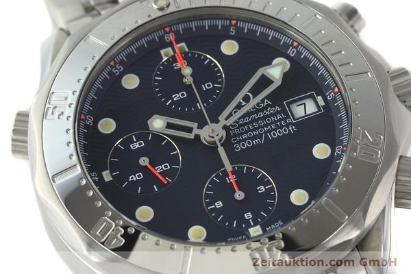 Used luxury watch Omega Seamaster chronograph steel automatic Kal. 1154 ETA 7750  | 142622 02