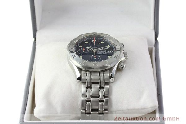 Used luxury watch Omega Seamaster chronograph steel automatic Kal. 1154 ETA 7750  | 142622 07