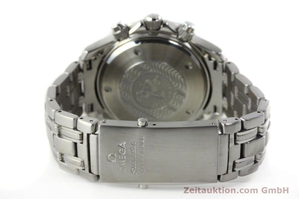 Used luxury watch Omega Seamaster chronograph steel automatic Kal. 1154 ETA 7750  | 142622 14
