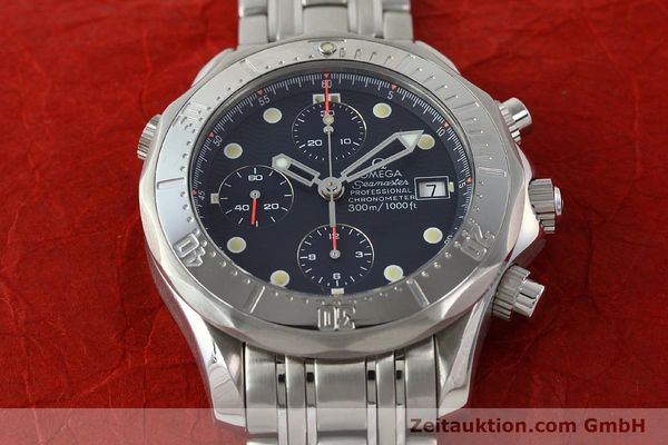 Used luxury watch Omega Seamaster chronograph steel automatic Kal. 1154 ETA 7750  | 142622 18
