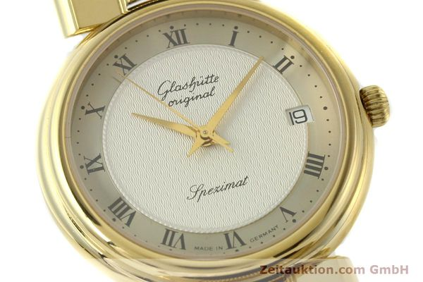 Used luxury watch Glashütte Spezimat gold-plated automatic Kal. 10-30  | 142623 02