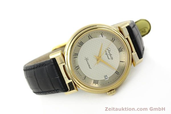 Used luxury watch Glashütte Spezimat gold-plated automatic Kal. 10-30  | 142623 03