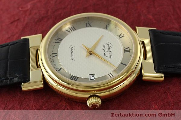 Used luxury watch Glashütte Spezimat gold-plated automatic Kal. 10-30  | 142623 05