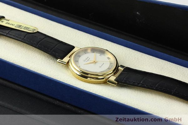 Used luxury watch Glashütte Spezimat gold-plated automatic Kal. 10-30  | 142623 07