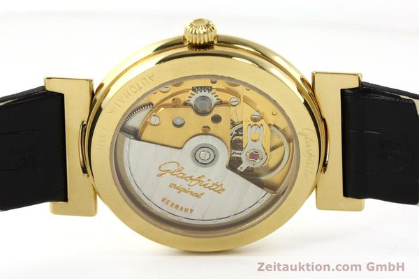 Used luxury watch Glashütte Spezimat gold-plated automatic Kal. 10-30  | 142623 09