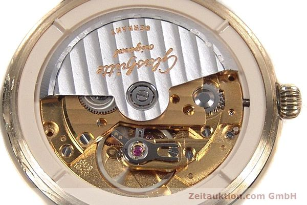 Used luxury watch Glashütte Spezimat gold-plated automatic Kal. 10-30  | 142623 10
