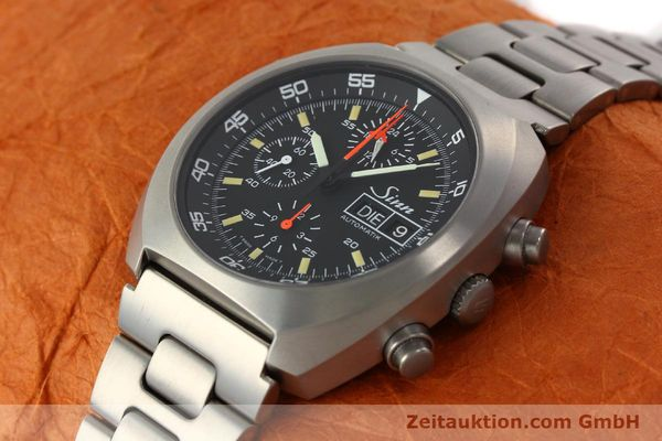 Used luxury watch Sinn D1 Mission chronograph titanium automatic Kal. 5100 Ref. 140/42  | 142626 01