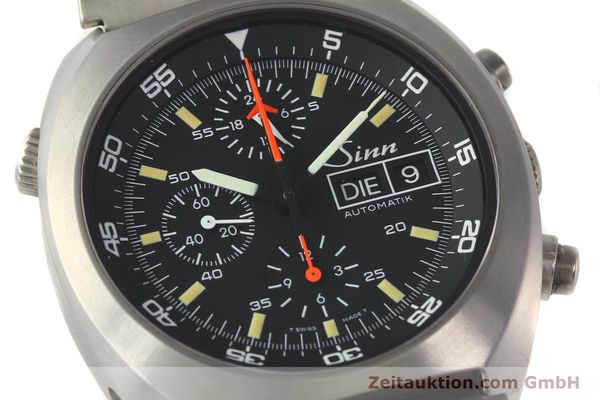 Used luxury watch Sinn D1 Mission chronograph titanium automatic Kal. 5100 Ref. 140/42  | 142626 02