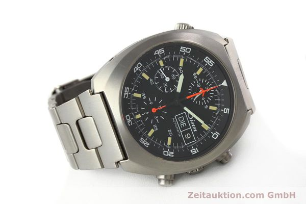 Used luxury watch Sinn D1 Mission chronograph titanium automatic Kal. 5100 Ref. 140/42  | 142626 03