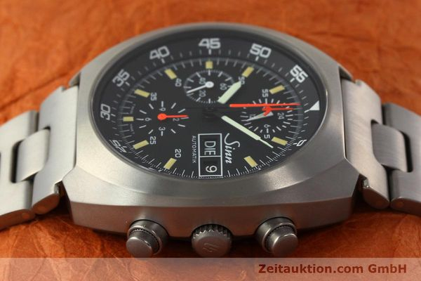 Used luxury watch Sinn D1 Mission chronograph titanium automatic Kal. 5100 Ref. 140/42  | 142626 05